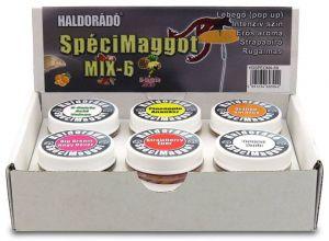 Haldorado - Haldorado Speci MAGGOT- MIX-6 arome, Porumb Flotant (Plastice)