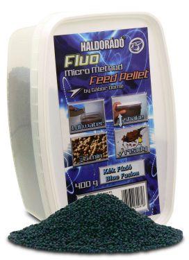Haldorádó - Fluo Micro Method Feed Pellet - Fuziunea Albastra / Blue Fusion