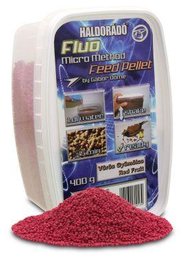 Haldorádó - Fluo Micro Method Feed Pellet - Fructe Rosii / Red Fruit