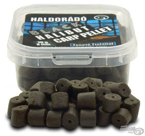 Haldorado - Black Halibut Carp Pellet 8 mm - Black Squid