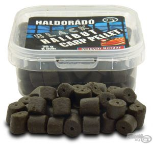 Haldorado - Black Halibut Carp Pellet 8 mm - Haiducul Unguresc