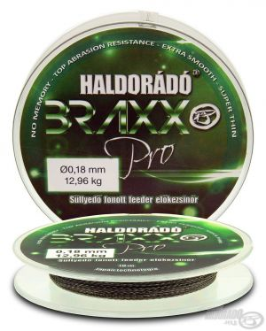 Haldorado - Braxx  Fir inaintas impletit Feeder 0,04mm / 10m