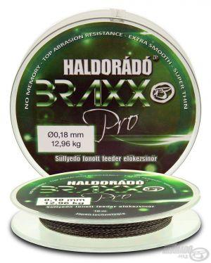 Haldorado - Braxx  Fir inaintas impletit Feeder 0,06mm / 10m