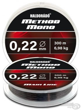 Haldorado - Fir Method Mono Main Line 300m / 0,22mm / 6,98kg