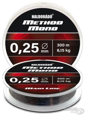 Haldorado - Fir Method Mono Main Line 300m / 0,25mm / 8,15kg