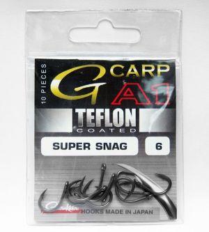 Carlige Gamakatsu G-Carp A1 Super Snag Hook Teflon Coated