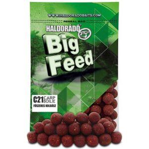 Haldorado - Big Feed Boilie C21 - Carnati Condimentati 800g