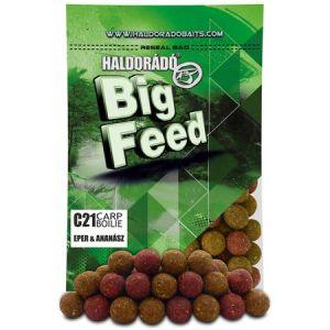 Haldorado - Big Feed Boilie C21 - Capsuna&Ananas 800g