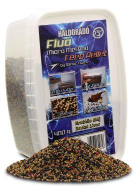 Haldorádó - Fluo Micro Method Feed Pellet - Brutal Liver