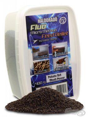Haldorádó - Fluo Micro Method Feed Pellet - Forta Neagra / Black Power