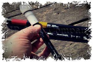 ICC - Baliza Premium PLUS MANUAL cu cap luminos de tip 3 Color-Changing (Actionare manuala: Rosu, Verde, Albastru)